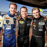 Mads Siljehaug, Patrik Niederhauser, Lenny Marionek Blancpain Endurance Silverstone