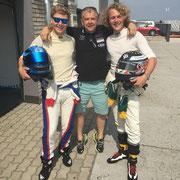 Ferdinand & Felix Porsche erstes Rennen