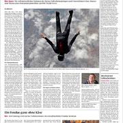 Berner Zeitung: Bericht Jetstream