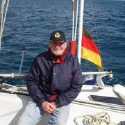 Commodore auf der Biscaya