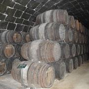 Portweinlager bei Offley