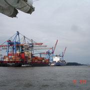 Die Containerbrücken