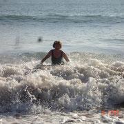 Der Atlantik bei Portimao im Spätherbst