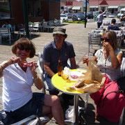 Mittagspause bei Aveiro