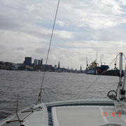 Richtung Hamburg