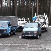 Der Tausch unseres F24 mit dem F31 aus Wien