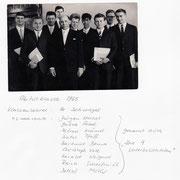 Meine Abiturklasse 1965