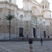 Die kathedrale von Cadiz