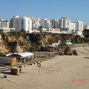 Die Praia da Rocha