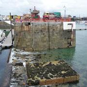 Der Sill von Guernsey-Harbour