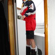 Die Stiefel sind optimal  gegen Wassereinbruch geschützt
