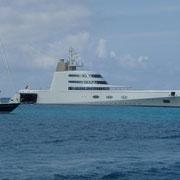 Das Schiff eines russischen Oligarchen ( Die A II )