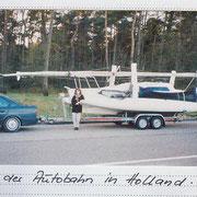 Wir holen den Tri aus Muiderzand (Holland)