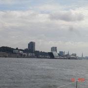 Die Elbe vor Hamburg