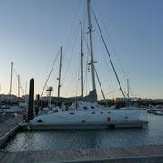 In der Marina von Portimao