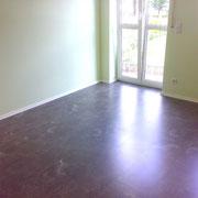 Fußboden und Sockelleisten