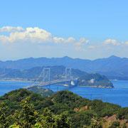 鳴門海峡を一望