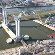 Pont Gustave Flaubert, Rouen