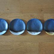 Assiettes à dessert / Collection Sommets / Céramiques ©LIT Au Grès d'Émaux