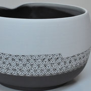 Saladier / Collection Japon / Céramiques ©LIT Au Grès d'Émaux