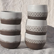 Petits bols / Collection Japon / Céramiques ©LIT Au Grès d'Émaux