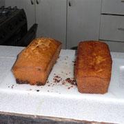 """""""Sandkuchen mit Schoggistängeli"""" und Zitronencake"""