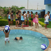 Im Schwimmbad