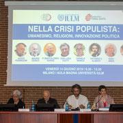 908.065 © Alessandro Tintori - IULM Nella crisi populista: umanesimo, religione, innovazione politica