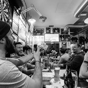 817.251 © 2018 Alessandro Tintori - Supwerbowl LII Rams Milano Mind the gap pub