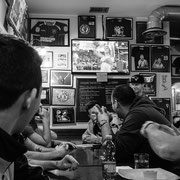 817.009 © 2018 Alessandro Tintori - Supwerbowl LII Rams Milano Mind the gap pub