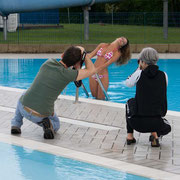 Backstage workshop in piscina