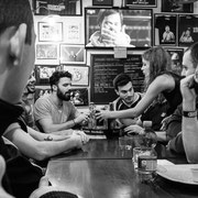 817.016 © 2018 Alessandro Tintori - Supwerbowl LII Rams Milano Mind the gap pub