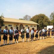 Limapela lycée en Zambie