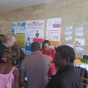 Les participant_es s'intéressent beaucoup au projet.