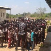 Kitwe école primaire en Zambie