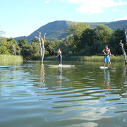 Stand Up Paddle (SUP) en el embalse de Sobrón