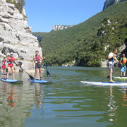 Stand Up Paddle en el embalse de Sobrón