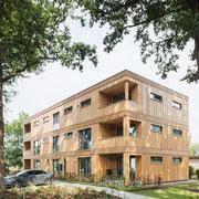 "Architekturfotografie Thomas Nutt, Mehrfamilienhaus ""die grüne 88"", Ottersberg"