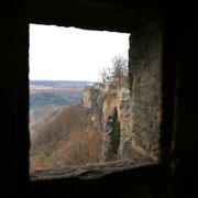 Blick aus einem Wachturm an der Südostseite