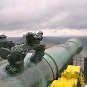 Kanone auf dem Blitzeichenplateau