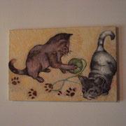 La chambre Fleurie et de Chats