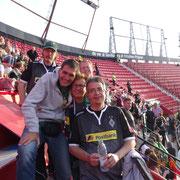 Championsleague in Sevilla, Marco, Fred,Urs,Andi +Biggi