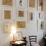 """oeuvres exposées à l'exposition """"Florilège"""""""