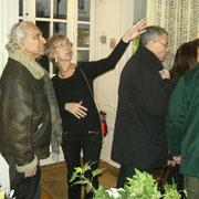 """Vernissage de """"Florilège"""" le jeudi 3 mars 2011"""