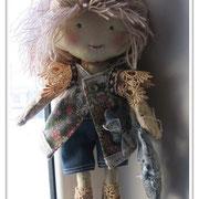 текстильная кукла  от lilac