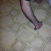 tapar juntas baldosas de mosaico
