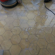 maquina pulidora de suelos de mosaico