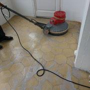 pulimento de mosaico