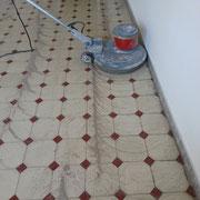 maquina de pulir suelo de mosaico