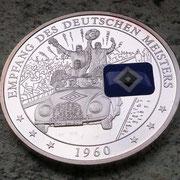 Empfang des Deutschen Meisters 1960